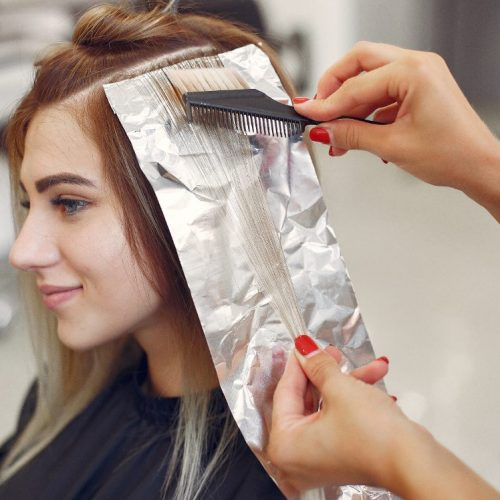 Hårfarve - striber - reflekser - københavn - ballerup